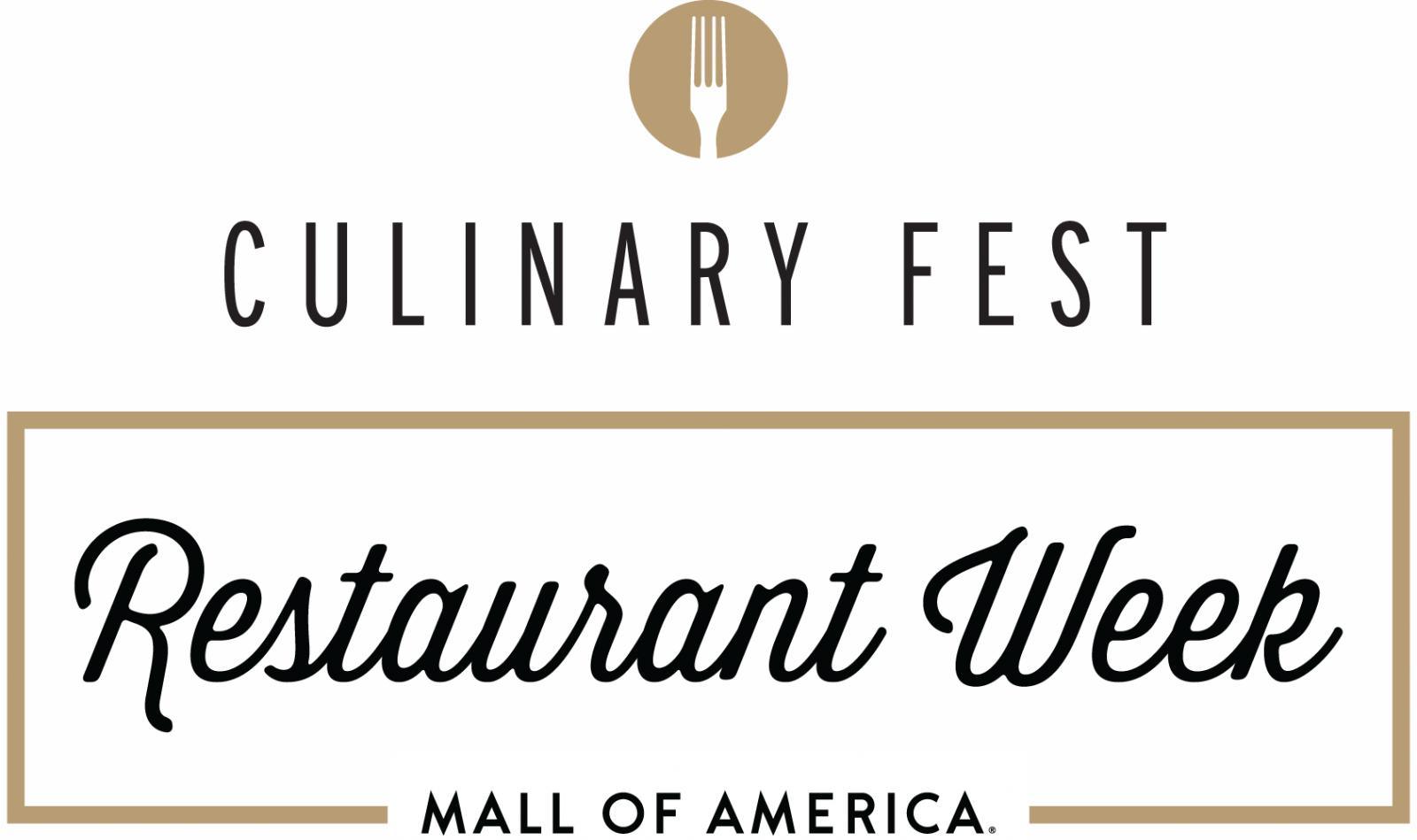 Mall of America Culinary Fest Restaurant Week
