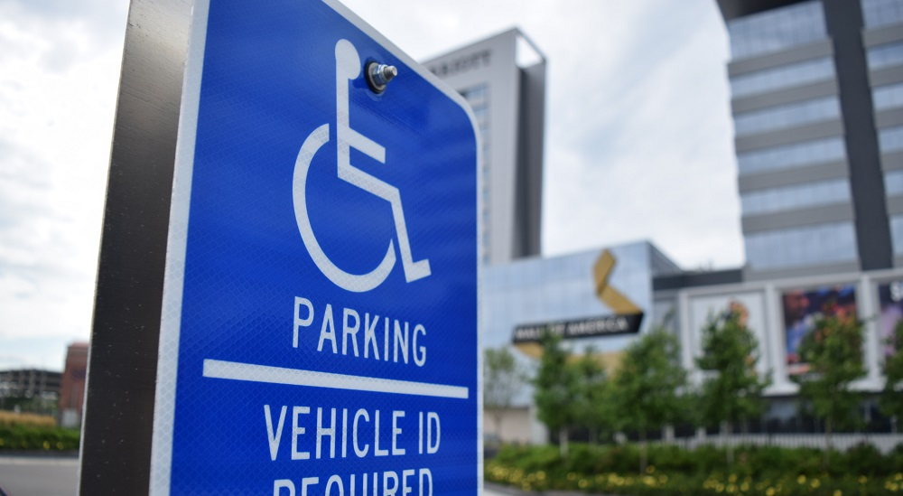 Mall of America Accessibility Parking