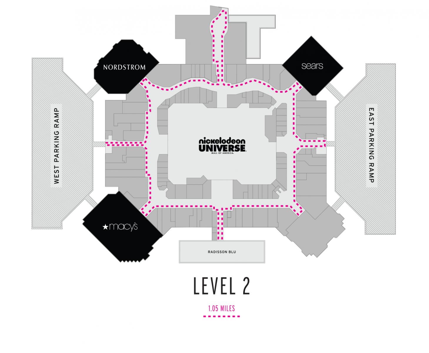 Mall Of America 3rd Floor Map.Moa Mall Stars Mall Of America
