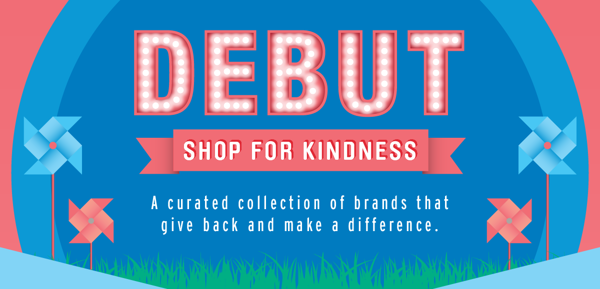 Shop America debut: shop for kindness - mall of america